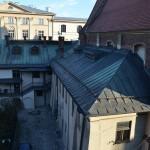 Widok na klasztor dawnych Marków z okien domu Księży Profesorów