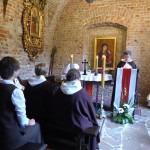Eucharystia w Giedroycianum - jednej z kaplic kościoła św. Marka