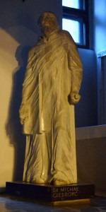 Michał Giedroyć, figura z kościoła św. Marka w Krakowie