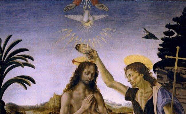 Zstąpienie Ducha Świętego naChrystusa
