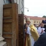 Odzyskany franciszkański klasztor wWilnie i… osobliwy powrót Michała Giedroycia naLitwę