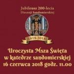 Główne uroczystości jubileuszowe 200-lecia Diecezji sandomierskiej