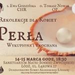 Rekolekcje dla kobiet – s. Ewa Godzińska CHR, o. Tomasz Nowak OP