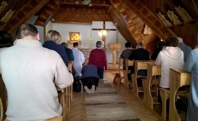 """Rekolekcje dla wspólnoty """"Droga Święta"""" wBiałce Tatrzańskiej"""