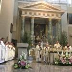 Boże Ciało w Wilnie, Msza w katedrze